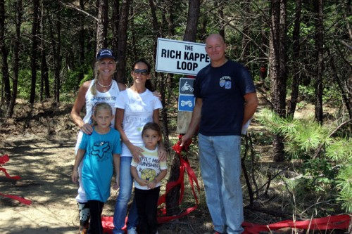 July 22, 2012 - Kid's Trail dedication to Rich Kappel